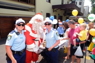 Santa and our Community Police